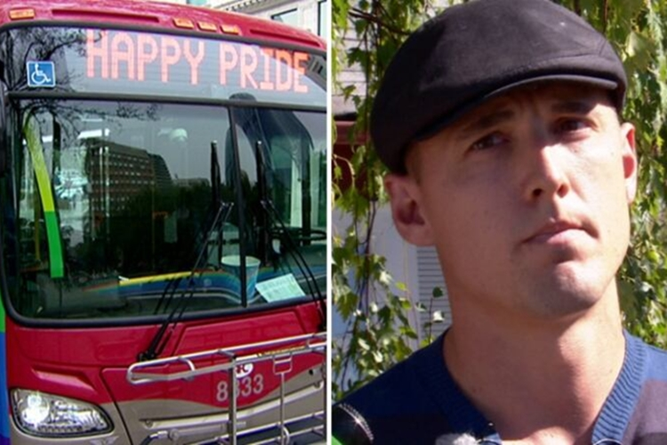 "Sofer crestin acuzat in Canada: a refuzat sa conduca un autobuz care promova celebrarea ""Gay Pride""(Video)"