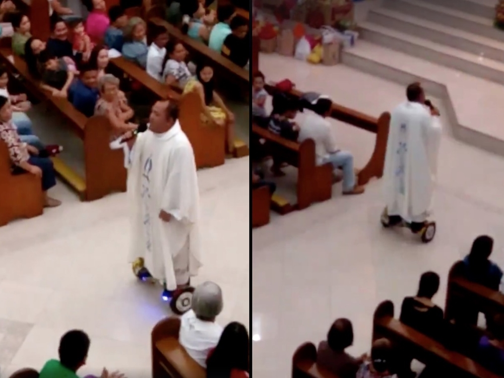 a-priest-was-suspended-for-riding-a-hoverboard-during-mass
